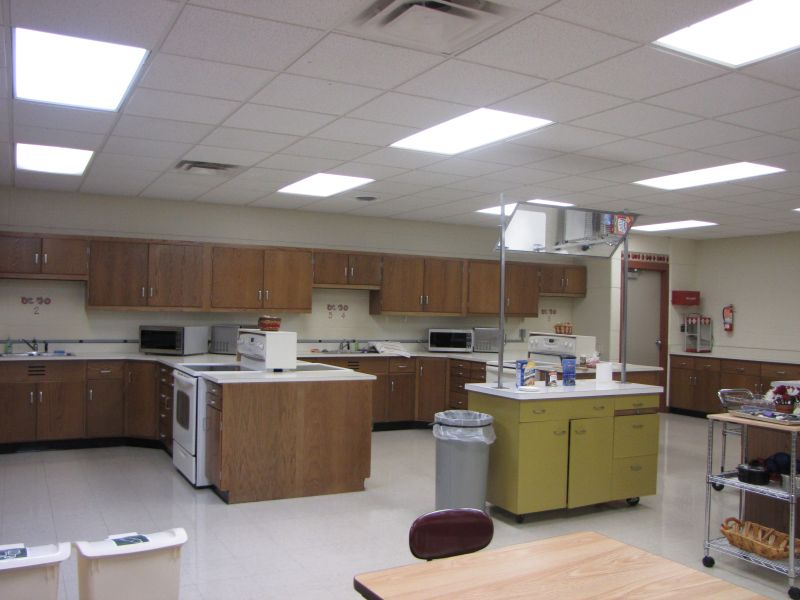 Classroom Kitchen Design ~ Treynor csd take a tour of the middle school